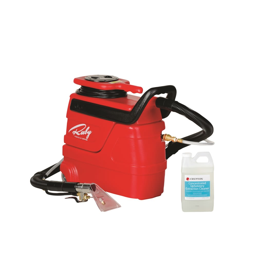 Crypton® Care Ruby Upholstery Extraction Machine with Cleaning Wand
