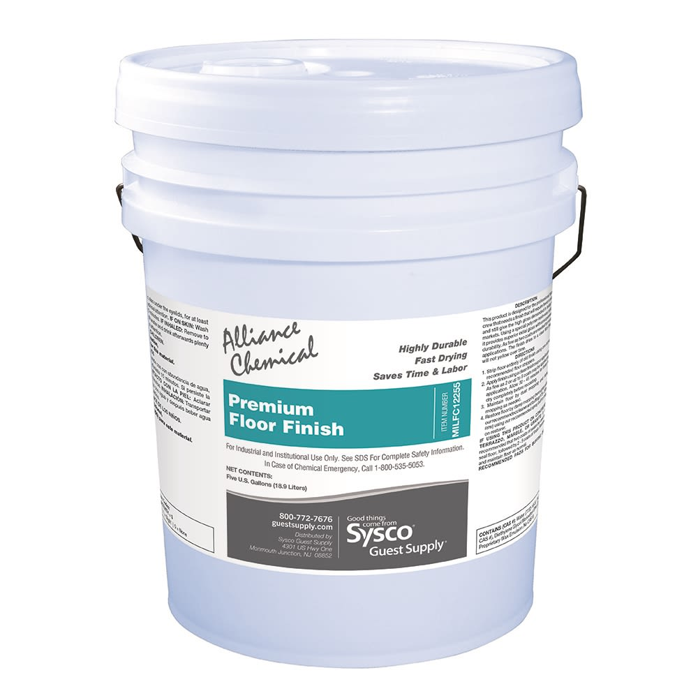 Alliance Premium Floor Finisher 5 Gallon