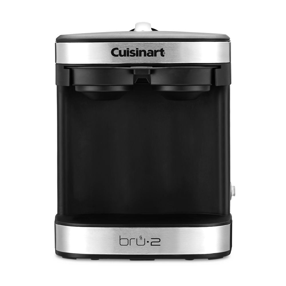 Cuisinart® Dual Cup Single Brew Coffeemaker, Black/Silver