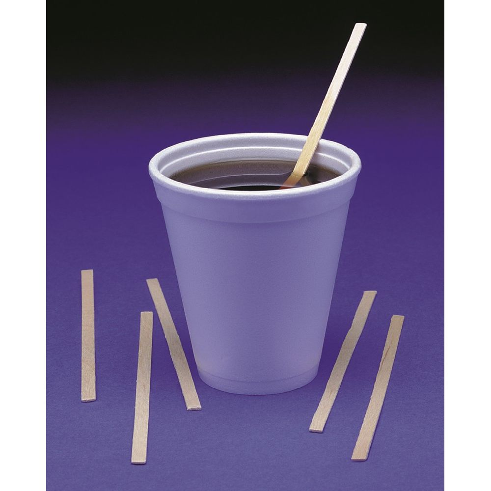 Coffee Stirrer, Wood, 5.5in