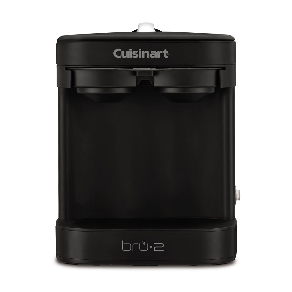 Cuisinart® Dual Cup Single Brew Coffeemaker, Black