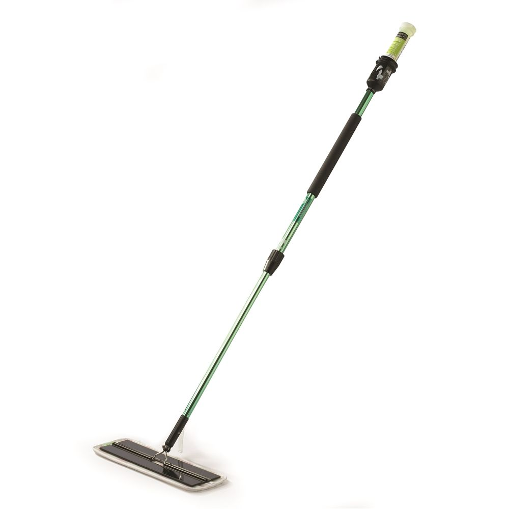 "3M Corporation® Easy Scrub Express Flat Mop Tool Adjustable 39-60"" with 16 in Pad Holder, Green"