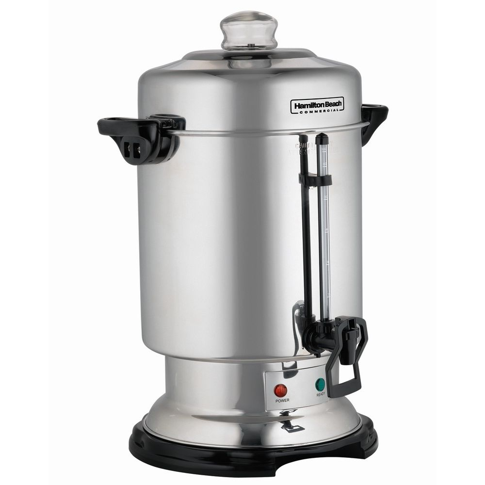 Hamilton Beach® 60-Cup Coffee Urn, Stainless Steel