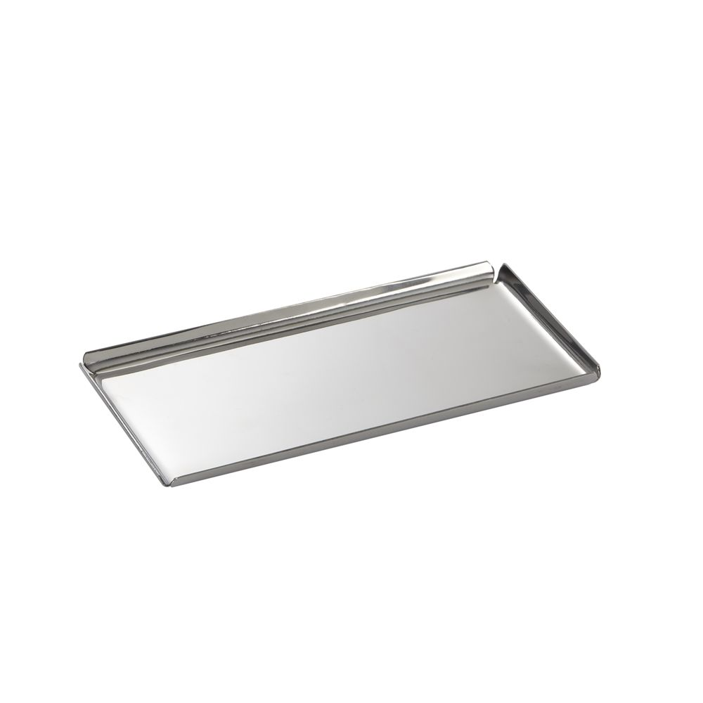 Basic Collection, Amenity Tray, Polished Stainless Steel