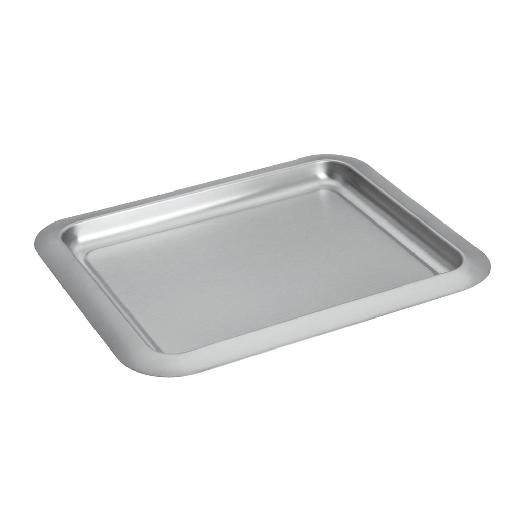 Brushed Collection Barware Tray, Brushed Stainless Steel