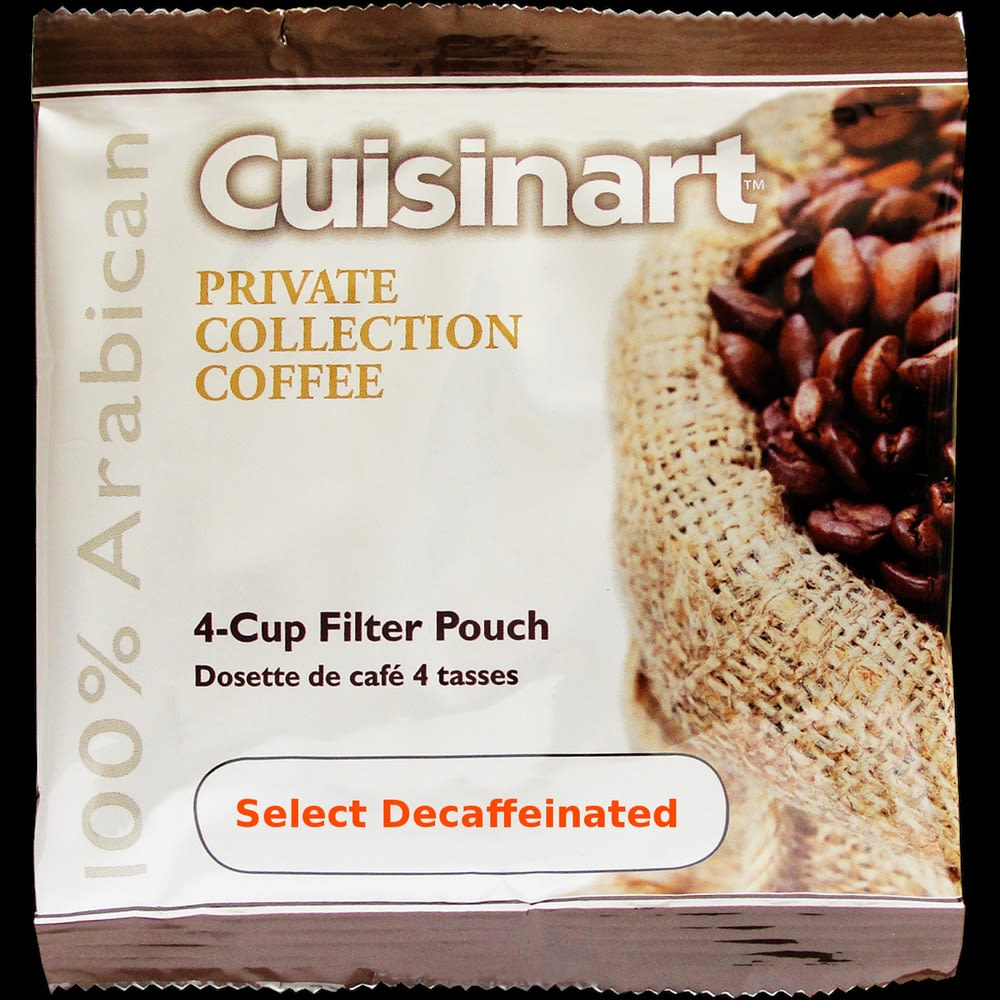 Cuisinart® Select Coffee, 4-Cup Filter Pack, Decaffeinated