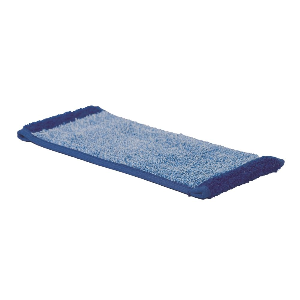 Ecolab® Microfiber Cleaning Pad Refills, Blue