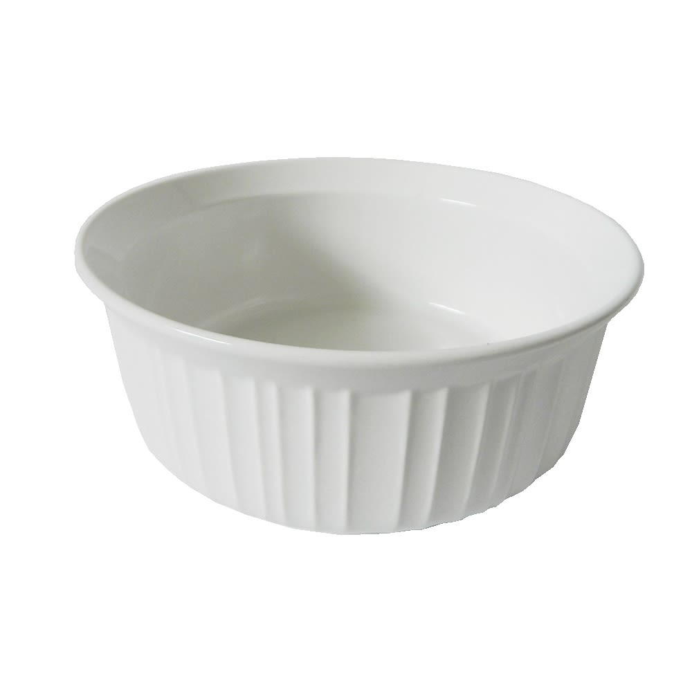 CorningWare® French White® Round Casserole Dish, 16oz