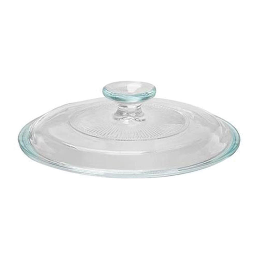 CorningWare® French White® Glass Cover for 1.5qt Round Casserole Dish
