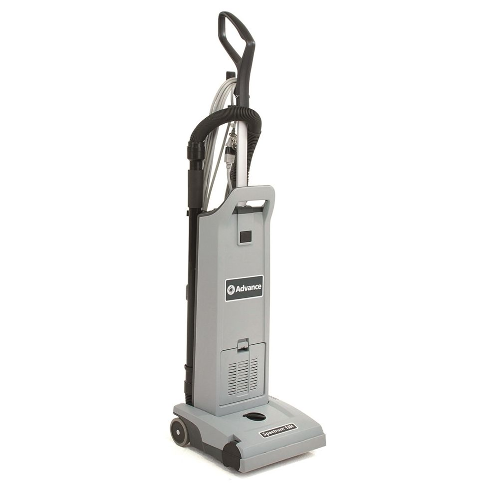 Advance Nilfisk® Spectrum 12H 12 Inch Upright Vacuum with On-Board Tools, HEPA Filtration