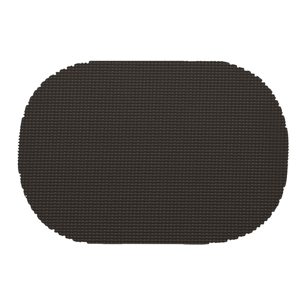 Placemat, Waffle Grip It, Black
