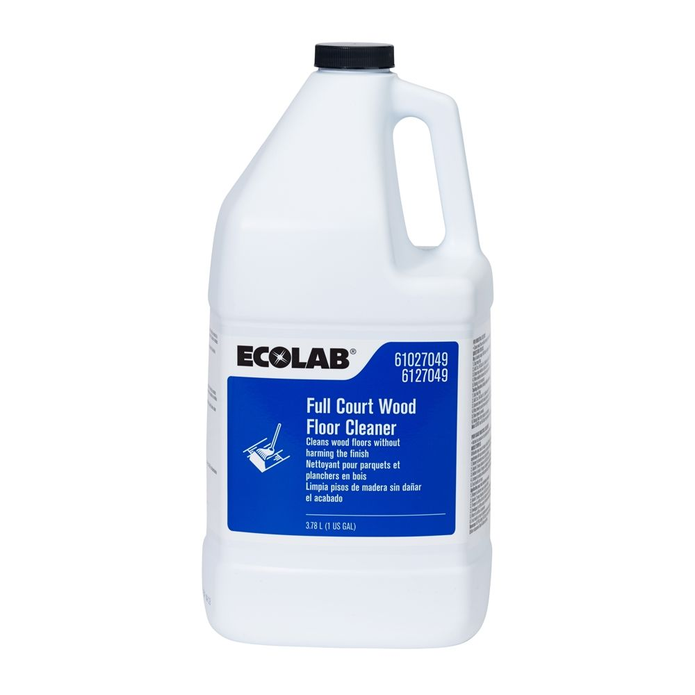 Ecolab® Full Court Wood Floor Cleaner 1 Gallon, #6127049