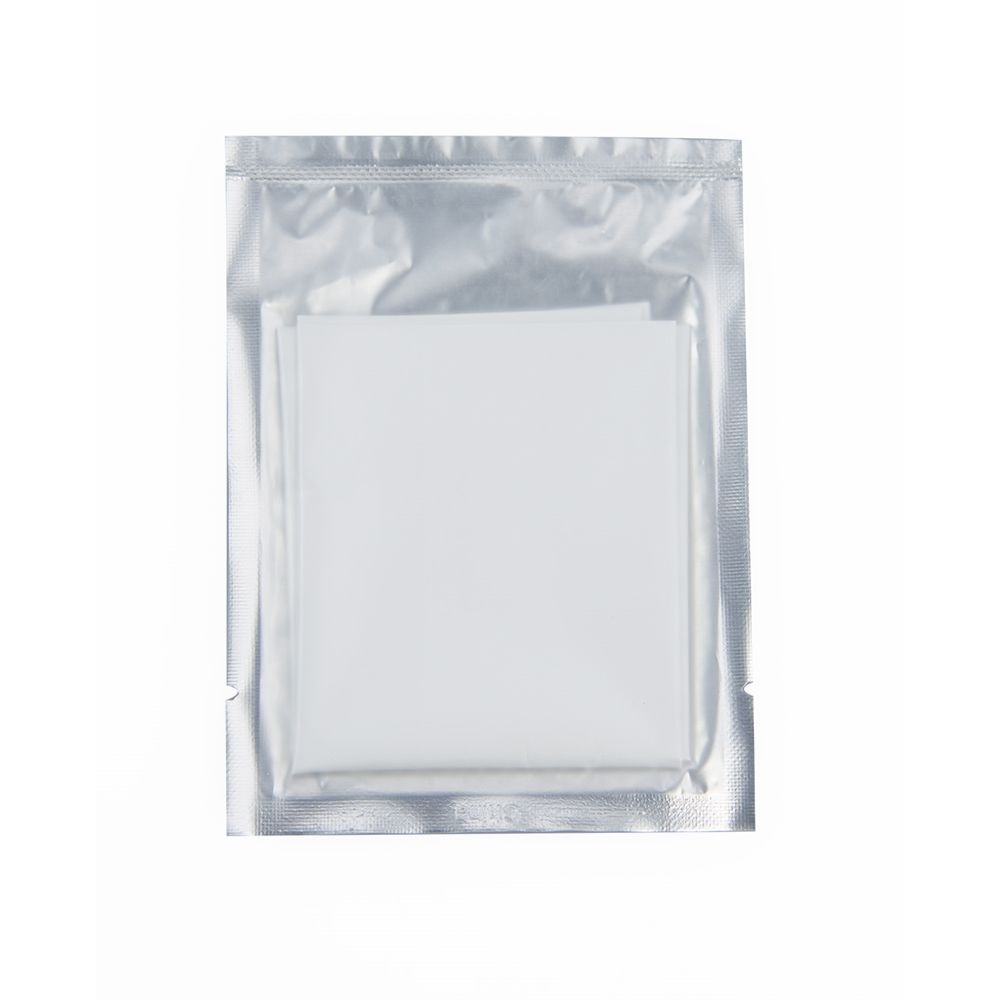 Sanitary Bag, 5x10, Package Frosted Front with Silver Back