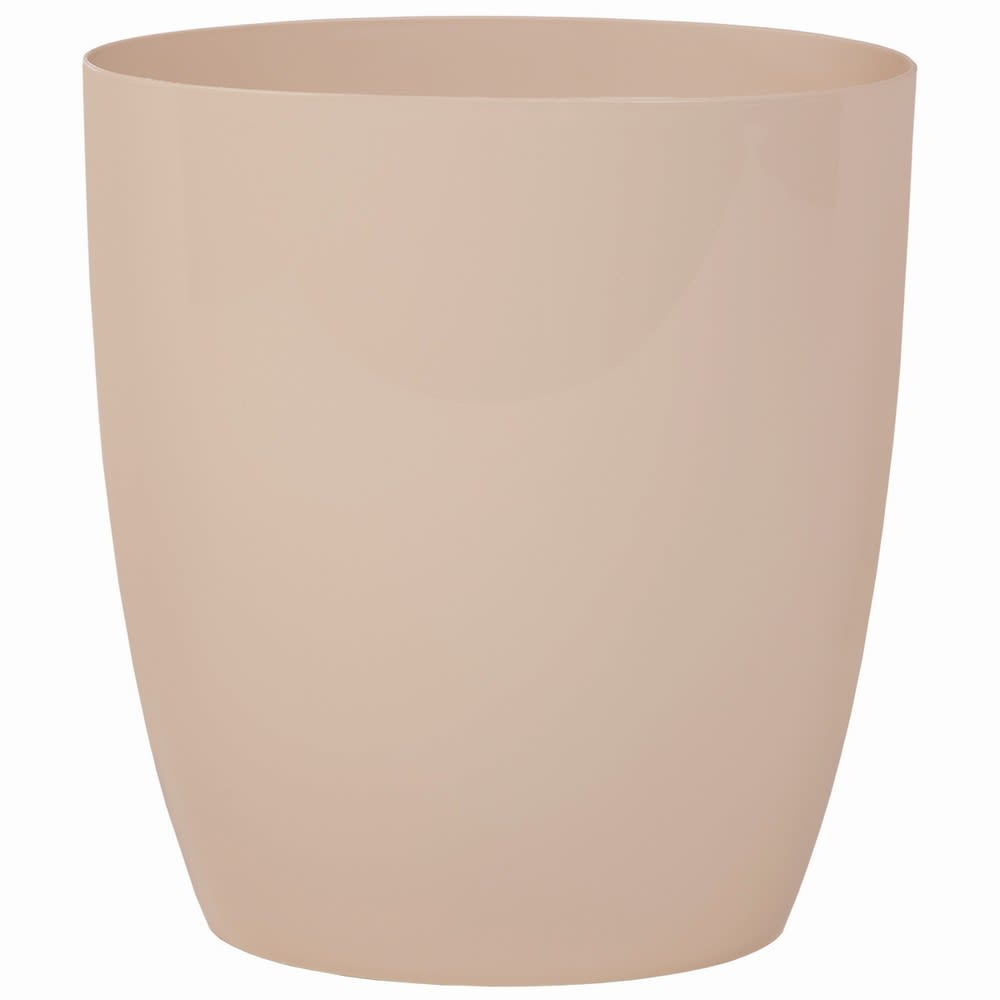 Cinergy Collection 10 Quart Oval Wastebasket, Linen