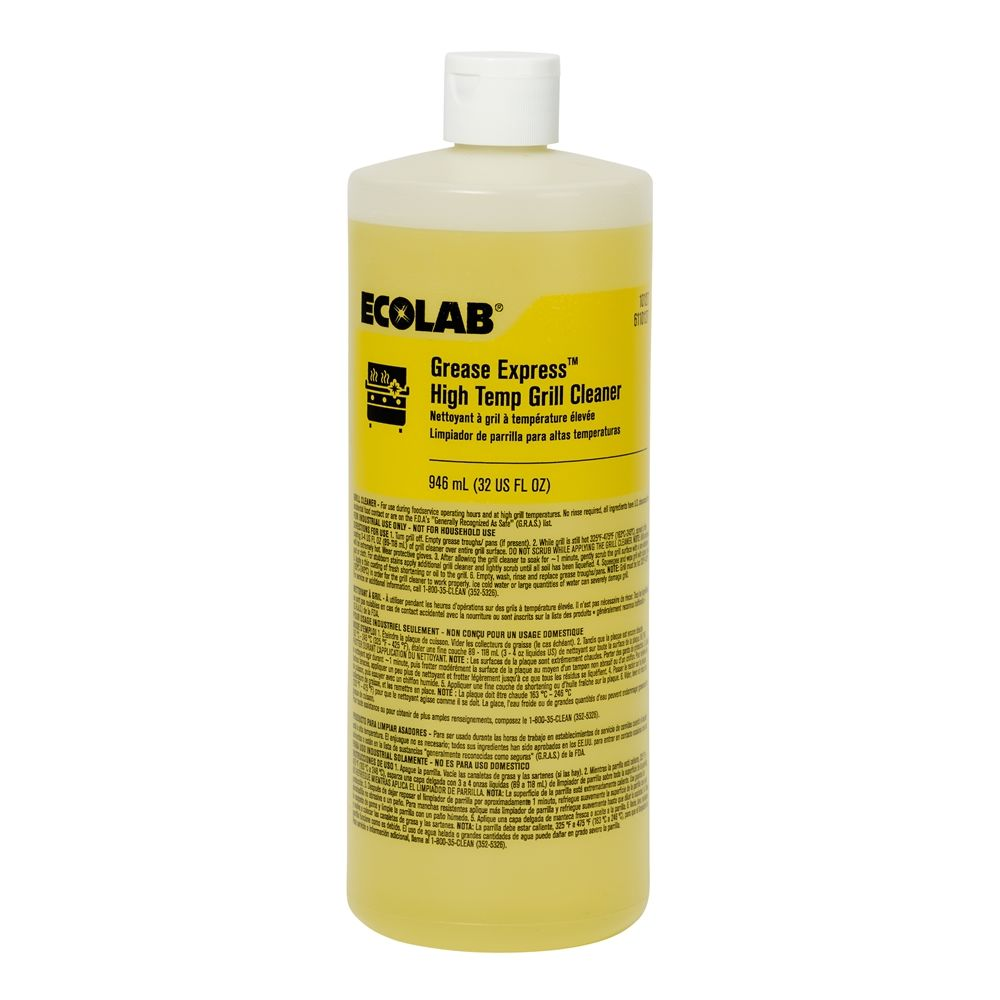 Ecolab® Grease Express TM High-Temp Grill Cleaner 32oz #6110127