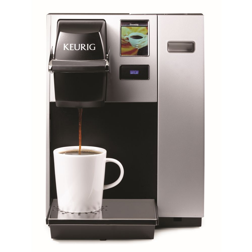 Keurig® K150 1-Cup Coffee Brewer, Programmable with Interactive Touchscreen, Black