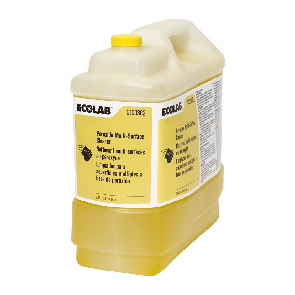Ecolab® Peroxide Multi-Surface Glass Cleaner 2.5 Gallon #6100302