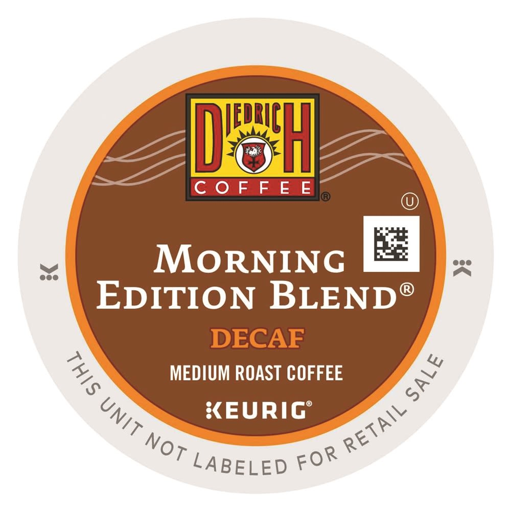 Diedrich Coffee® Morning Edition Blend K-Cup®, Decaffeinated