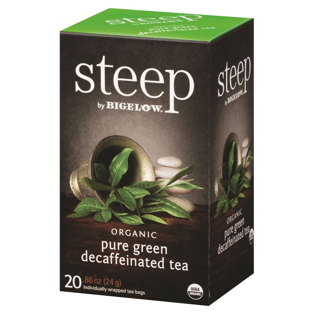 Bigelow® Organic Pure Green Tea, Decaffeinated