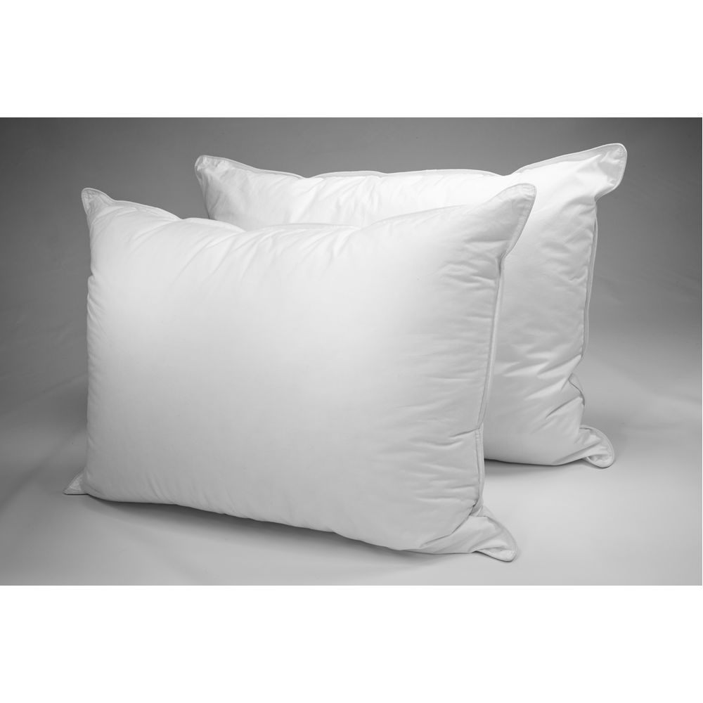 Dream Essence Pillow, Down Alternative Fiber Fill, T233 Cotton Cover, Queen 20x30, 23 oz, White