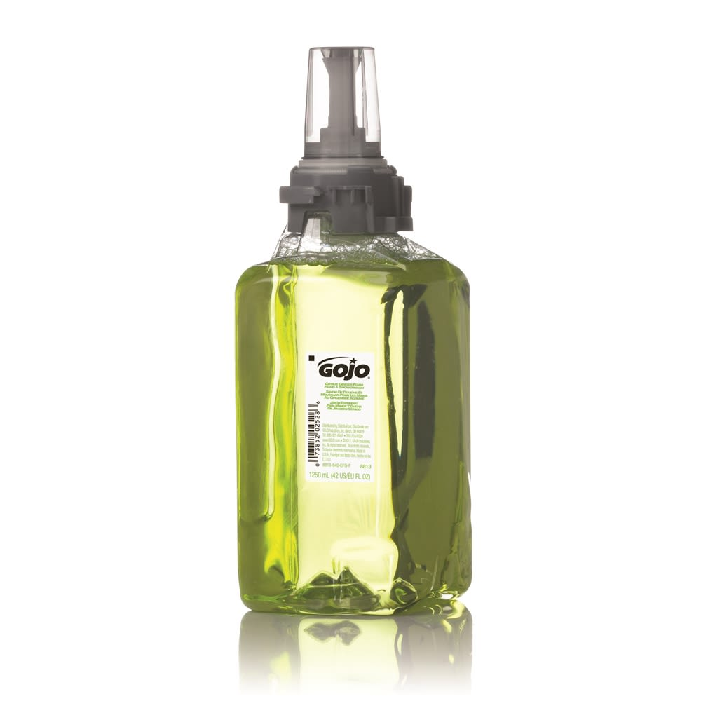 Gojo® Citrus Ginger Foam Hand & Shower Wash 1250ml Refill