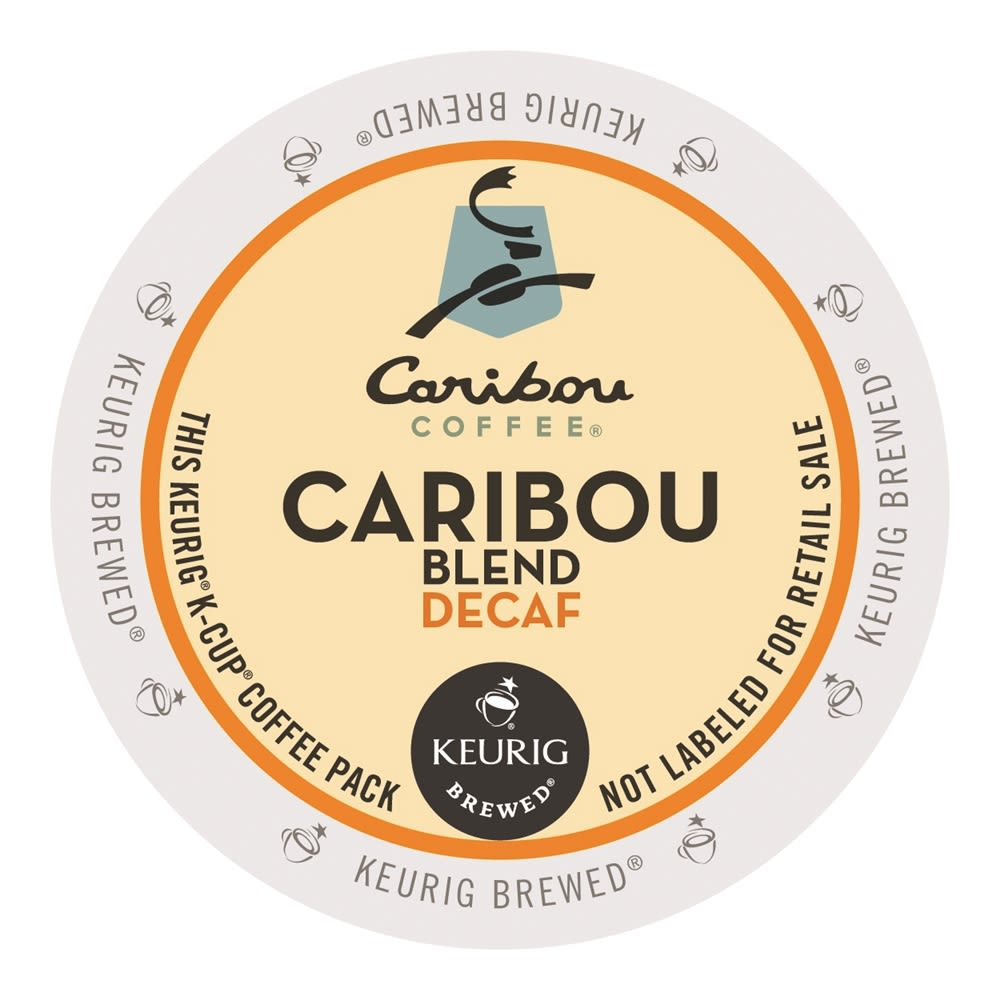 Caribou Coffee® Caribou Blend Coffee K-Cup®, Decaffeinated
