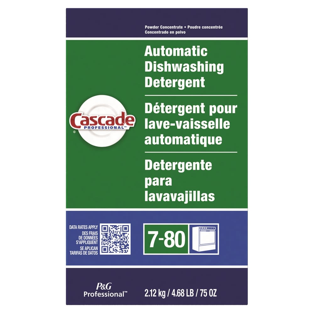 Cascade® Powder Dishwasher Detergent 75oz
