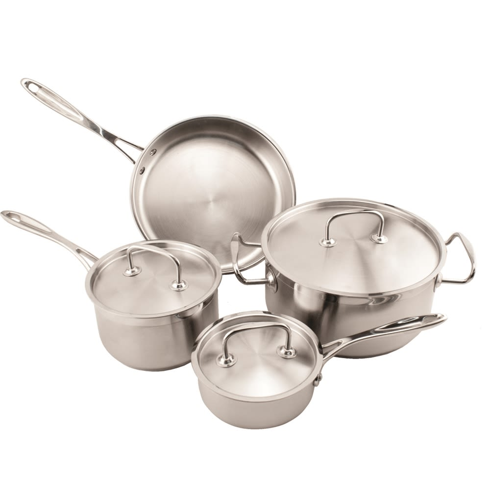 Empire Pro-Ware 7 Piece Stainless Cookware Set