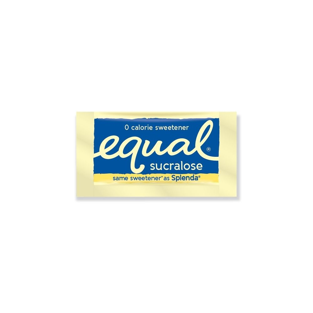 Equal® Sucralose Sweetener, Yellow Packets