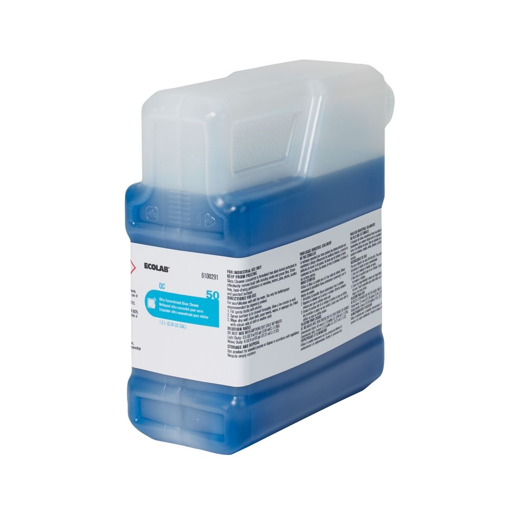 Ecolab® Ultra Concentrated Glass Cleaner 1.3 Liter