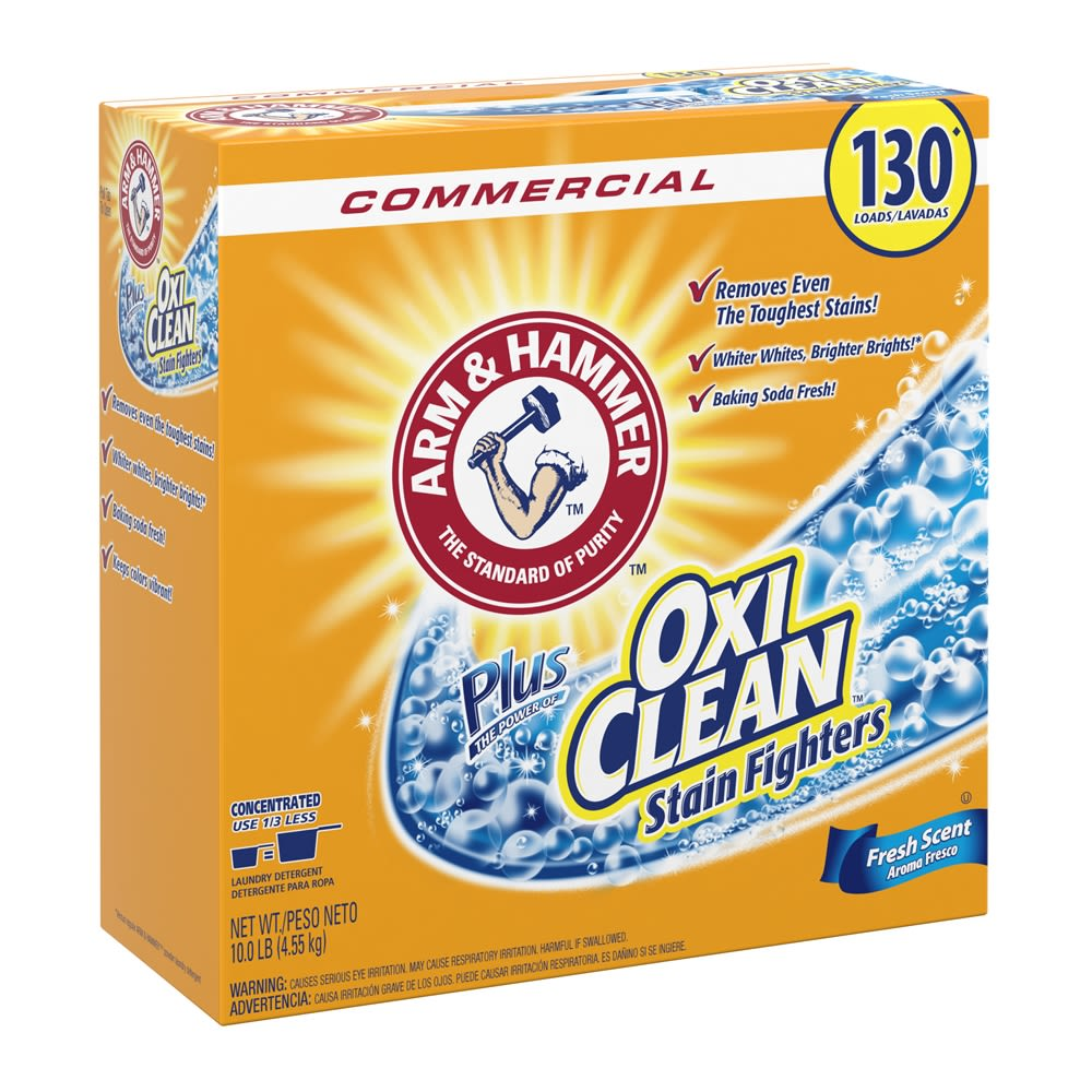 Arm & Hammer® Power of OxiClean Powder Detergent 9.92 lbs