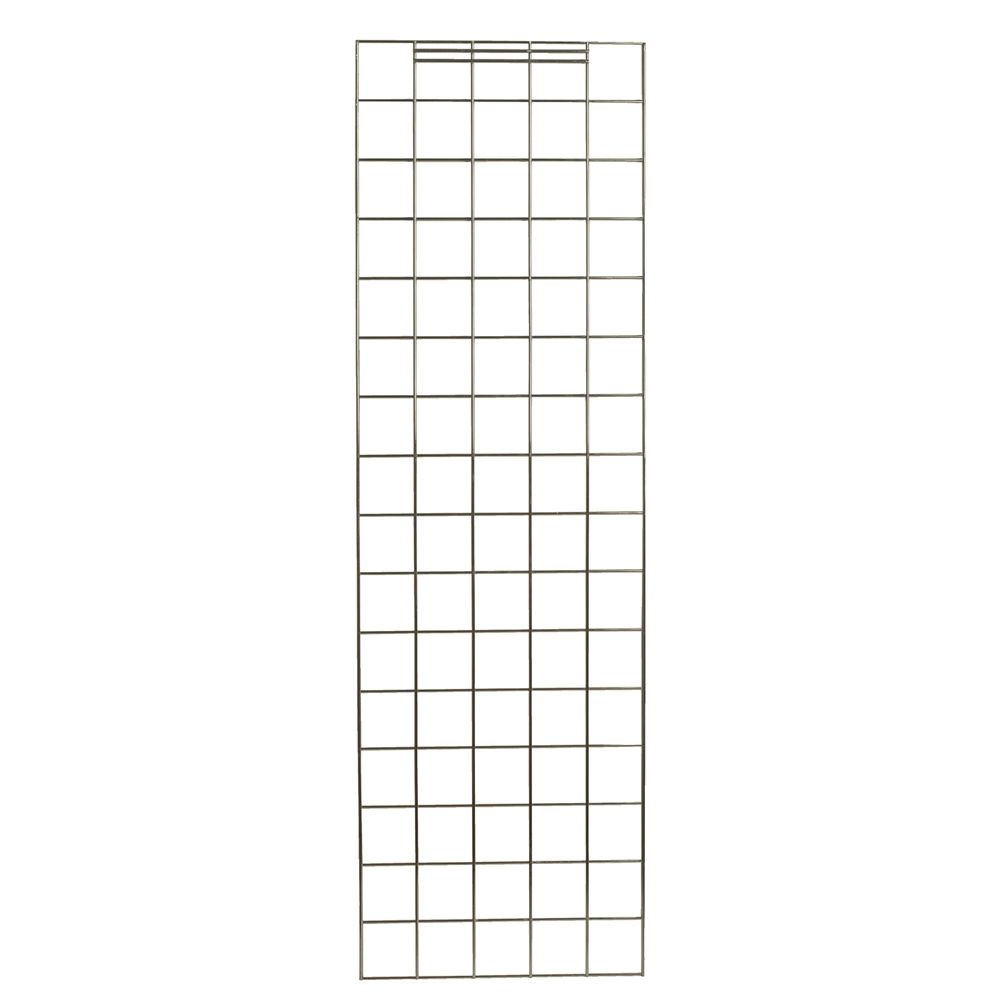 Focus Linen Cart Enclosure Panels, 18-3/8Wx50-3/4L, Chromate Finish