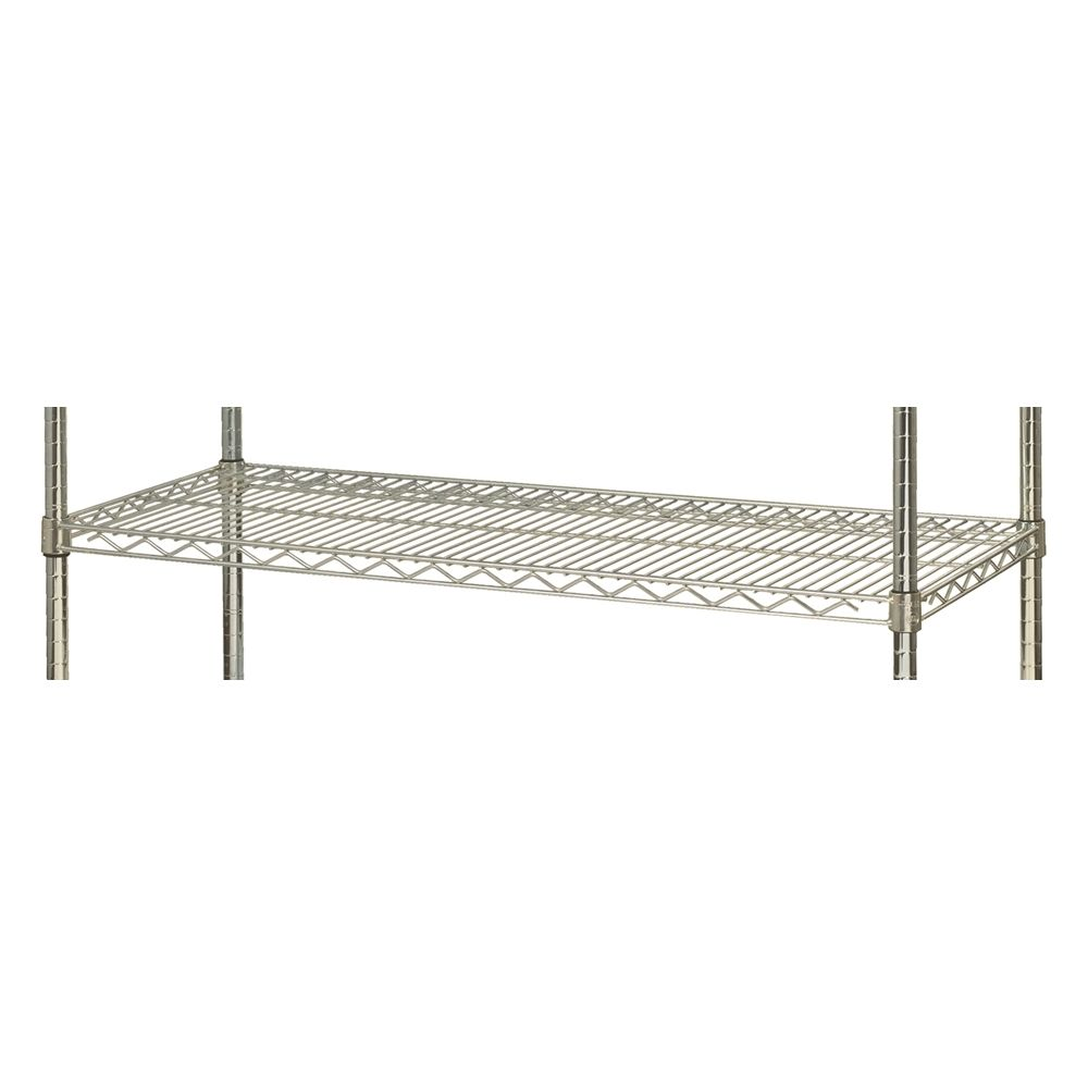 Focus Wire Shelves, 24x48, Chromate Finish
