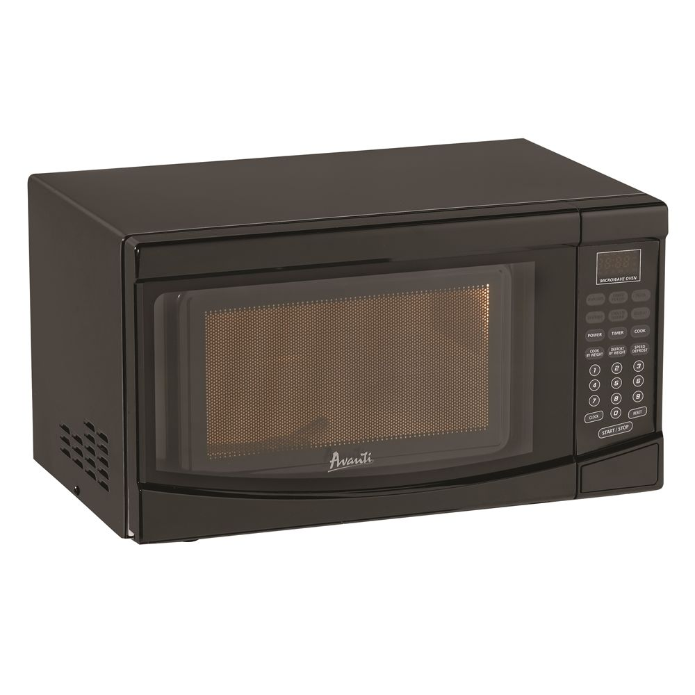 Avanti® Electronic Microwave with Touch Pad, 0.7 Cu Ft, 700 Watts, Black