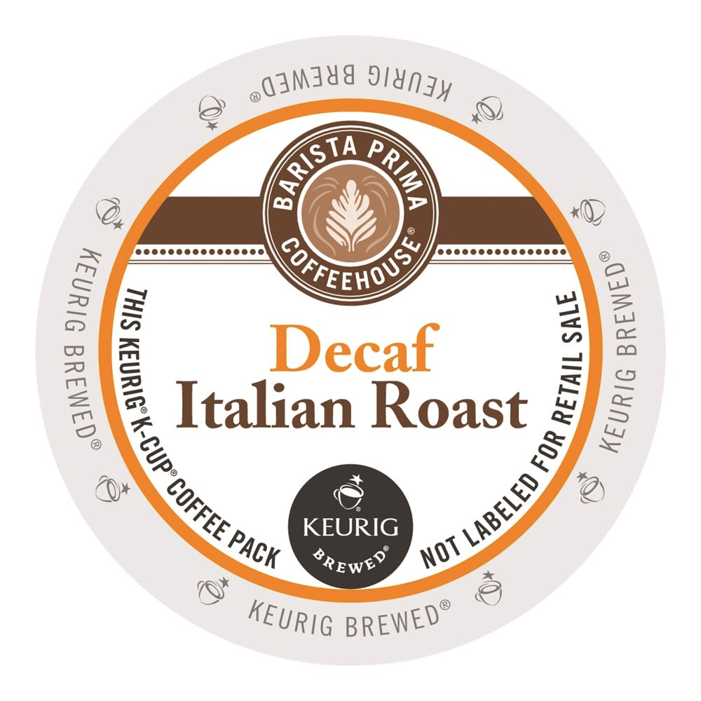 Barista Prima Coffeehouse® Italian Roast Coffee K-Cup®, Decaffeinated