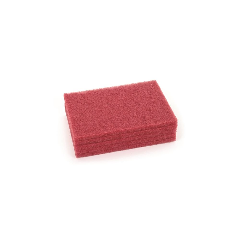 Advance Nilfisk® Scrubber Red Buffing Pads for Orbital Floor Machine