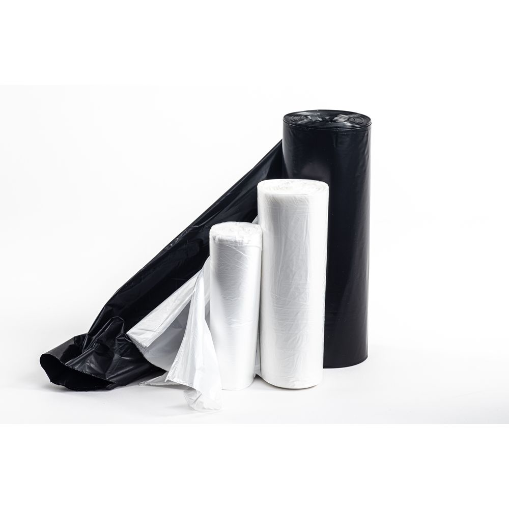MultiPlast® Can Liner, Bio-enhanced High Density, 20x22 Roll, 6 Micron, 7 Gallon