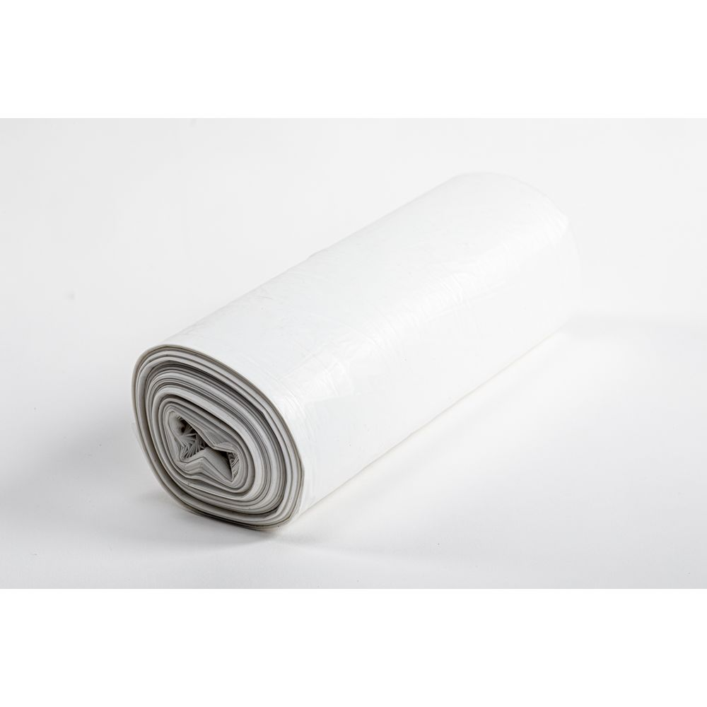 MultiPlast® Can Liner, Bio-enhanced High Density 24x24 Roll, Natural, 6 Micron 7-10 Gallon