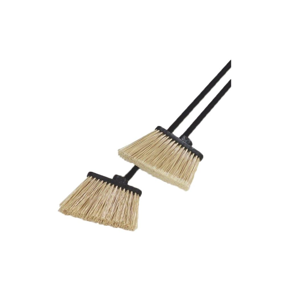 Carlisle® Duo-Sweep® 48 In. Medium Duty Angle Broom With 12 In Flare Polypropylene Bristles