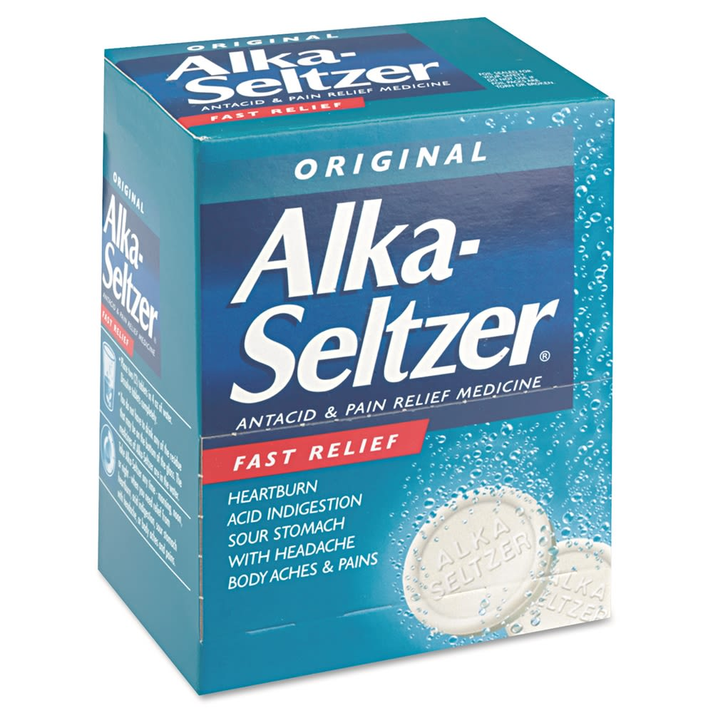 Alka-Seltzer® Antacid and Pain Relief Medicine 2/Pack