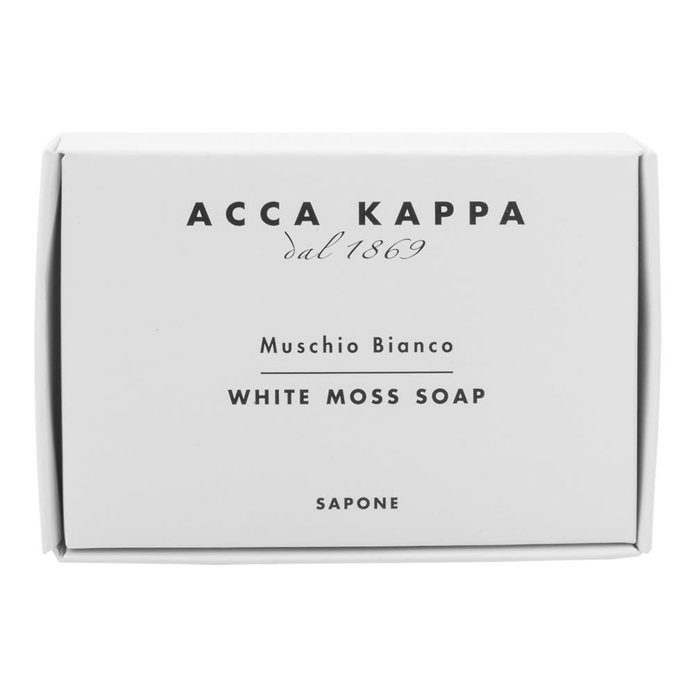 Acca Kappa White Soap 100g in a carton