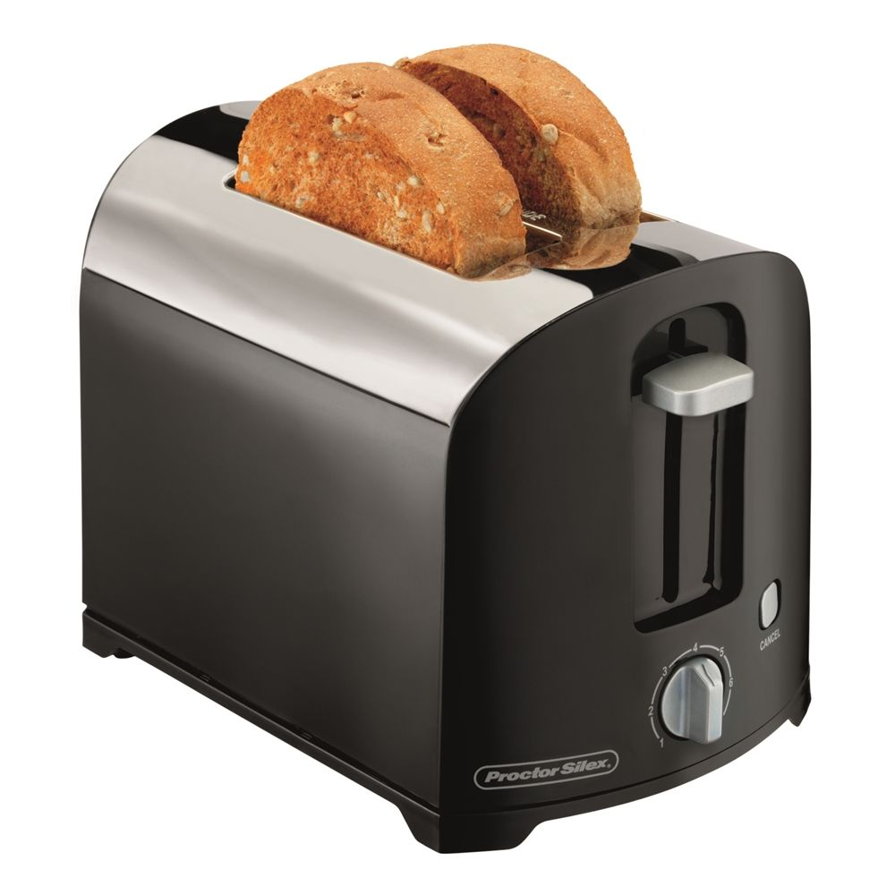 Hamilton Beach® 2-Slice Toaster, Chrome / Black