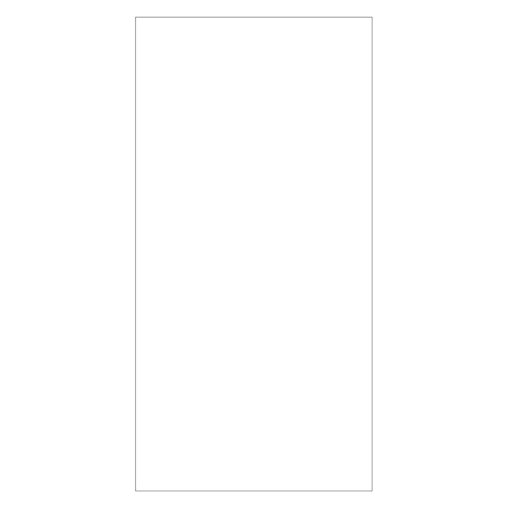 Guest Room Blank Notepad, White, 10 Sheets