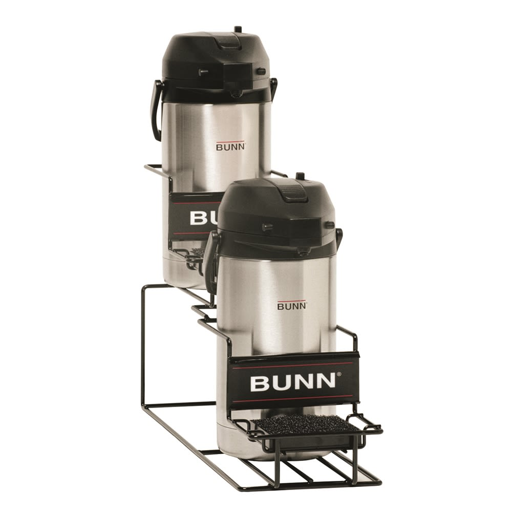 BUNN® Universal Airpot Rack, 2 Lower, Black
