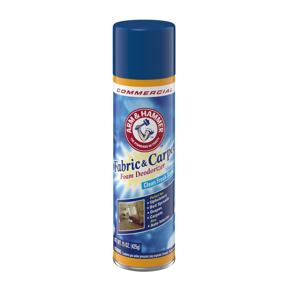 Arm & Hammer® Fabric & Carpet Foam Deodorizer