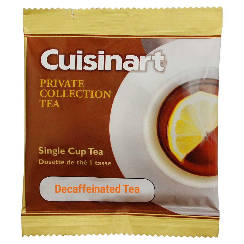 Cuisinart® Private Collection 1-Cup Tea, Decaffeinated
