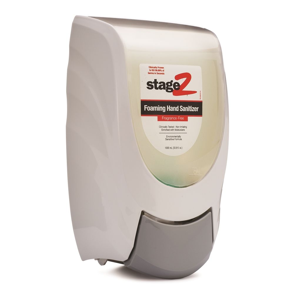 2XL-230 Foaming Hand Sanitizer Pump Dispenser, Wall Mount, White