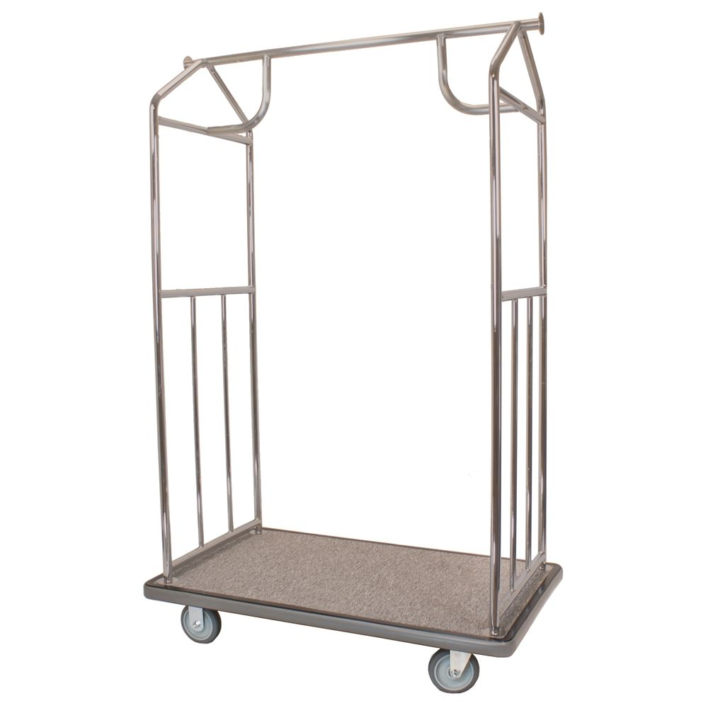 All-In-One Bellman's Cart Brushed Stainless Steel