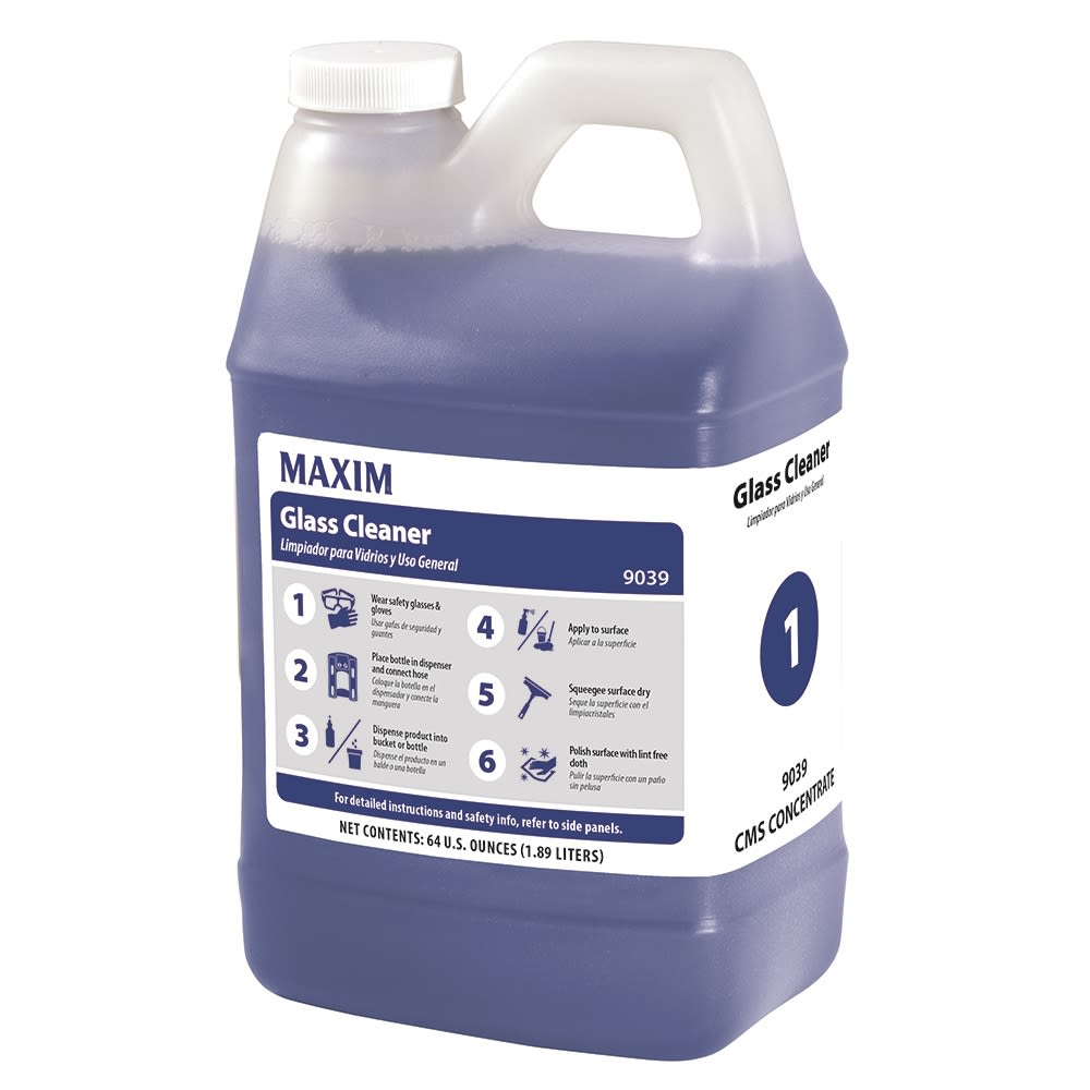 Maxim® #1 CMS Glass Cleaner 64oz