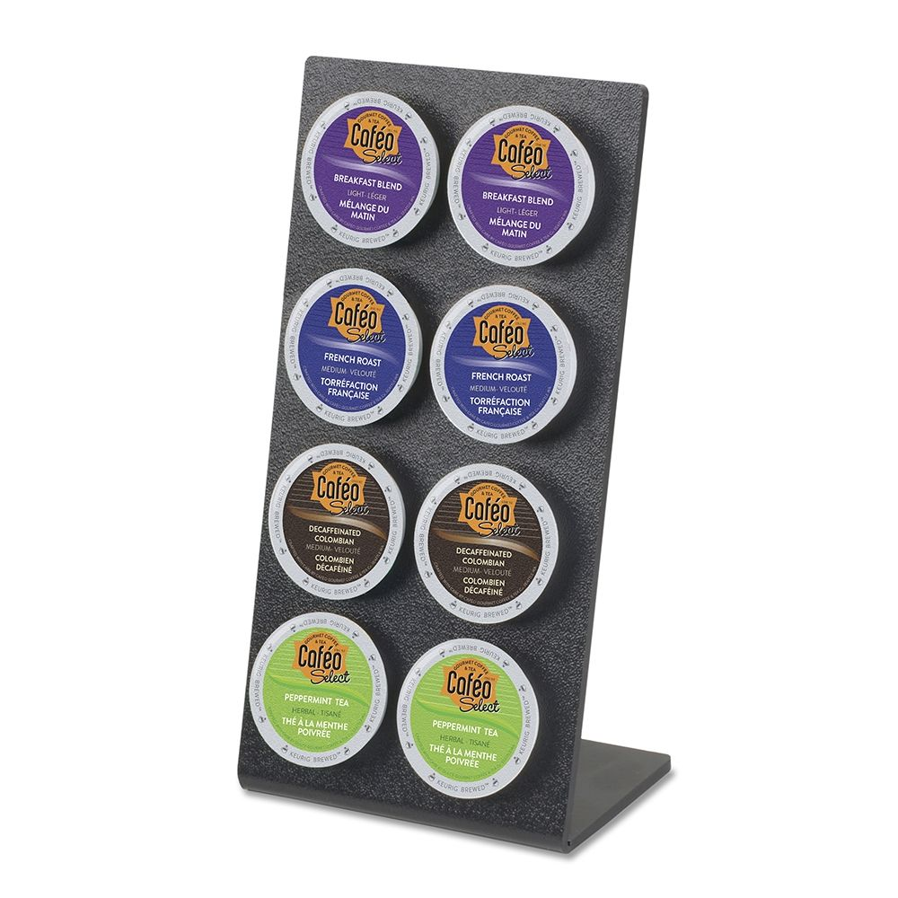 8-Hole K-Cup® Display Holder, Black